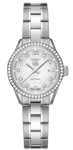 TAG Heuer Women's WV2413.BA0793 Carrera Diamond Accented Automatic Watch