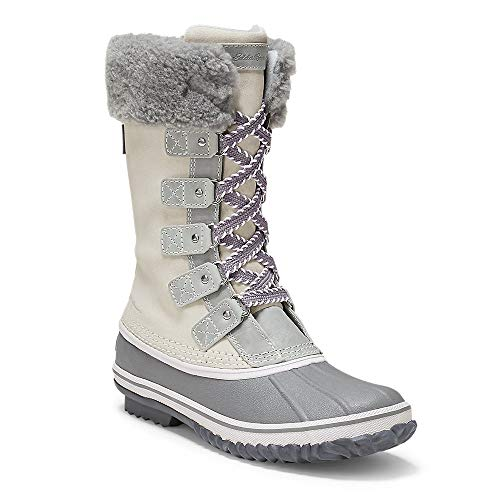 Eddie Bauer Women's Hunt Pac Deluxe Boot, Snow Regular 6.5M