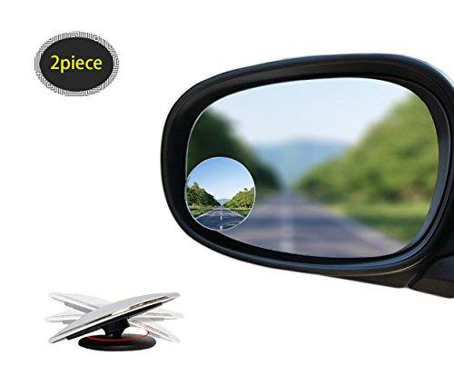 rotabili di 360/° vetro convesso di alta qualit/à 5,1/cm camion e SUV per auto Specchietti retrovisori regolabili e inclinabili confezione da 4
