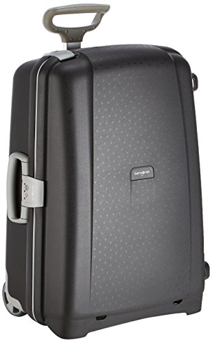 Samsonite Aeris Upright M Koffer, 65 cm, 64.5 L, Schwarz (Black)