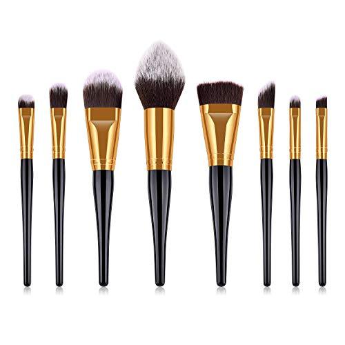 Blush brosse Flamme brosse Professionnel maquillage brosse ensemble Revelution maquillage brosses gold