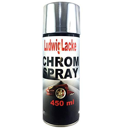 Chromspray 1 x 400ml Chromlack Chrom Chromspraydose