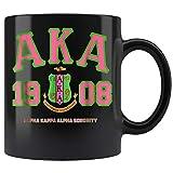 Womens Alpha Kappa AKA Alpha AKA AKA Coffee Mug 11oz Tea Cups Gift