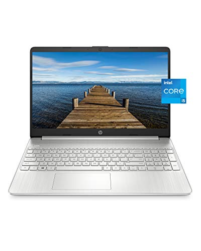 "HP 15 Laptop, 11th Gen Intel Core i5-1135G7 Processor, 8 GB RAM, 256 GB SSD Storage, 15.6"" Full HD IPS Display, Windows 10 Home, HP Fast Charge, Lightweight Design (15-dy2021nr, 2020)"