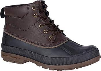 Sperry Mens Cold Bay Chukka Boots Amaretto/Black 9.5