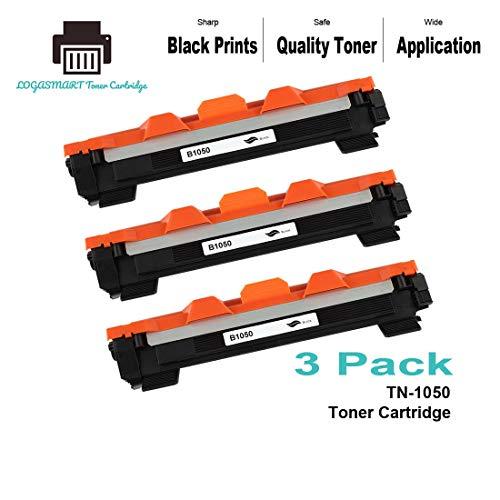LOGASMART Cartuchos de Tóner Compatible para Brother TN-1050(1.000 Páginas) para Brother HL-1110/ 1110E/ 1110R/ 1112/ 1112E/ 1112R/ 1210W/ 1212W, MFC-1810/ 1810E/ 1810R/ 1815R/ 1910W, DCP-1510