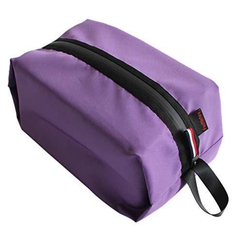 Travel Shoe Bags Waterproof 300D Oxford Cloth Ultralight Shoes Bag with Zipper for Men & Women, Shoe Bag Camping Hiking Travel Storage Bags Waterproof Swimming Bag Travel Kits