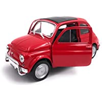 H-Customs Welly Escala de Producto de Auto Modelo Fiat Nuova 500 Auto 1:34 Color Aleatorio