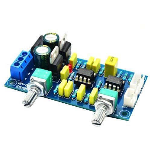 Vipithy Double Power Tiefpassfilter Schwerer Subwoofer Vorverstärker Verstärkerplatine Bausatz