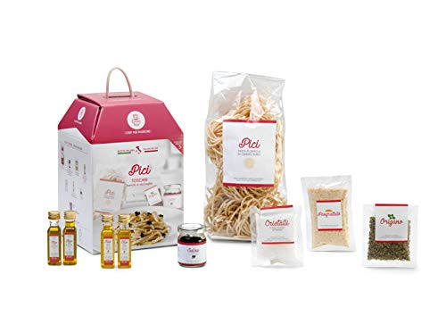 PICI TOSCANI My Cooking Box x5 Porzioni - Per una serata tra amici, una cena romantica o come idea regalo originale! Resta a casa con My Cooking Box!