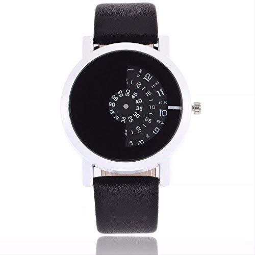 AETTP Moda Diseño Creativo Relojes Cámara Concepto Breve Discos Simples Especiales Digitales Manos Relojes de Pulsera de CuarzoNegroCalienteBlanco