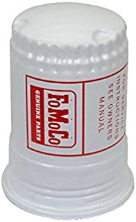 MACs Auto Parts 41-35460 Fuel Pump Filter Bowl (Canister) - White With Red - FoMoCo Lettering - Falcon