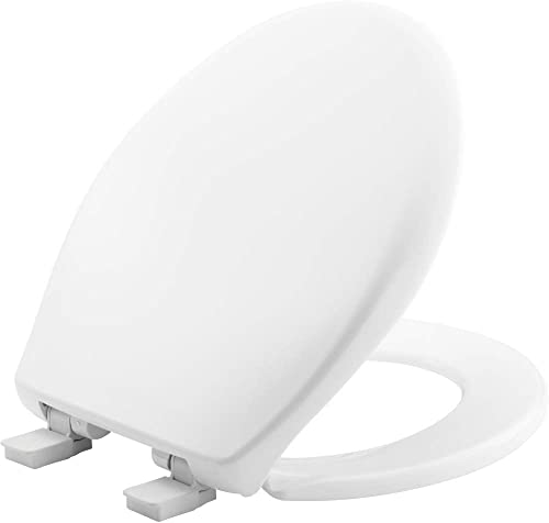 discount Bemis 200E4 000 Toilet Seat, popular lowest 1 Pack Round, White sale