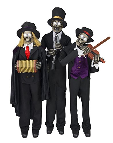 Ghostly Animatronic Musical Halloween Trio