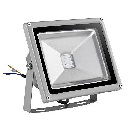 Flood & Spot Lighting Luz de Seguridad de luz de inundación LED Que Cambia de Color RGB con Control Remoto, IP65 a Prueba de Agua, lámpara de Exterior para Escenario de jardín