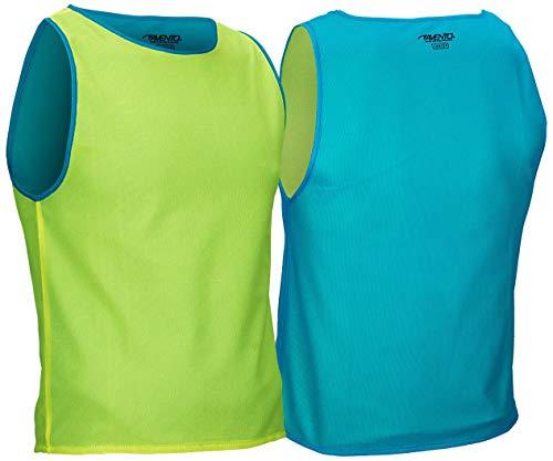 Avento - Fitness-Achselshirts für Jungen in Fluorescent Yellow/Blue, Größe Einheitsgröße