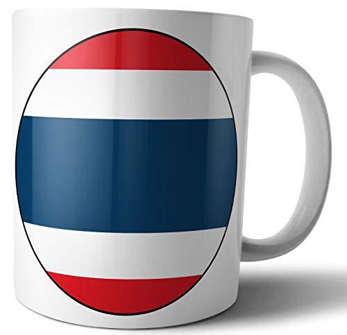 Thailand - Thaise vlag - Thee - Koffie - Mok - Beker - Verjaardag - Kerstmis - Cadeau - Geheime Kerstman - Stocking Filler