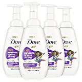 Dove Foaming Body Wash For Kids Berry Smoothie Hypoallergenic Skin Care 13.5 oz 4 Count
