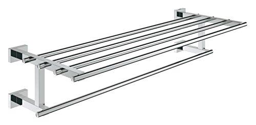 GROHE Essentials Cube | Accessoires Bath - Multi-Badetuchhalter |chrom |40512001