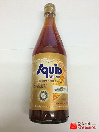 The Royal Squid Brand Premium Fish Sauce 725ml