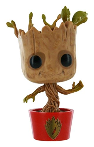 Marvel Funko,, Guardians of The Galaxy, Dancing-Groot-Figur, Hersteller-Nr.: FUNVPOP5199, Größe:10 cm
