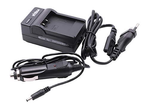 vhbw Akkuladegerät kompatibel mit DXG 599V, 5C0, 5C0V, 5C8V, 5C8VR Digitalkamera, Camcorder, Action Cam-Akku - Ladeschale