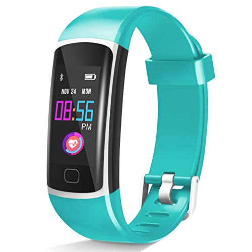 Fitness Tracker【2021 Version】, Waterproof Activity Tracker with Heart Rate Monitor and Sleep Monitor, Step Counter,Calorie Counter,Fitness Watch for Women Men Kids