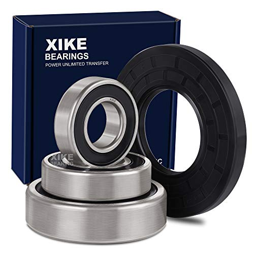 Price comparison product image XiKe W10253866,  WH45X10071,  W10772618,  W10253864 and W10772617 Front Load Washer Tub Bearing Seal Kit,  Replacement for Whirlpool,  Kenmore,  GE,  Maytag and KitchenAid Etc.