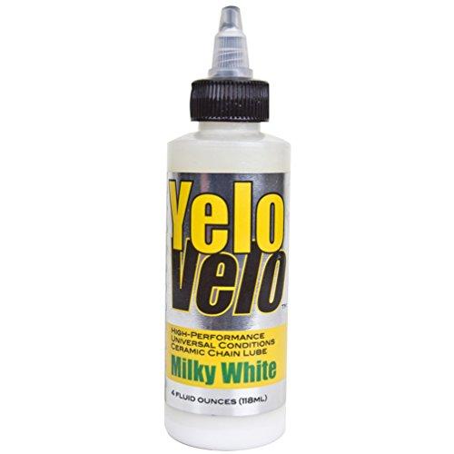 Yelo Velo Milky White Lube, 4 oz. Bottle Each