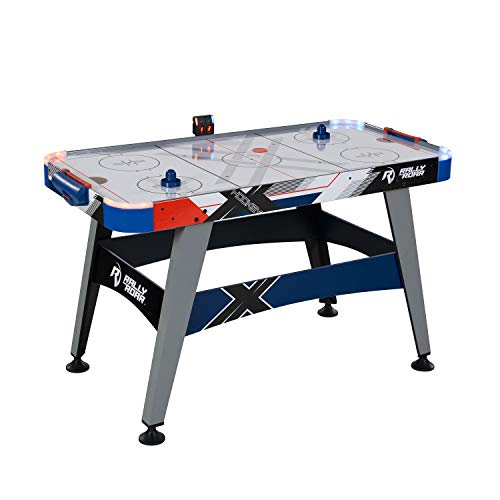 """Rally and Roar Air Hockey Table, 54"""", with LED Air Hockey Puck and..."""