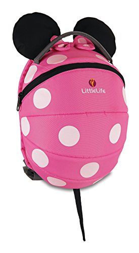LittleLife Disney Kinder Rucksack - Pink Minnie