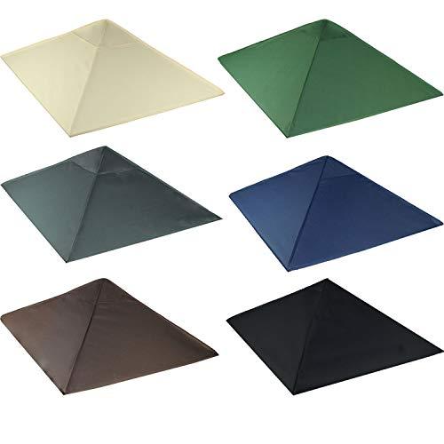 Frearten.de - Tetto di ricambio per gazebo 3 x 3 m, sabbia, gazebo antico, impermeabile, materiale: Panama PCV Soft 370 g/m2 extra forte, modello 3