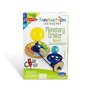 Build a working light-up model of the sun, earth, and moon to observe orbits, while exploring natural science principles with the Melissa & Doug Innovation Academy Planetary Orbiter Includes all materials and hardware to build, screwdriver, instructi...