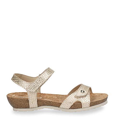 Sandalias de Mujer PANAMA JACK Dania Malibu B1 NAPA Dorado