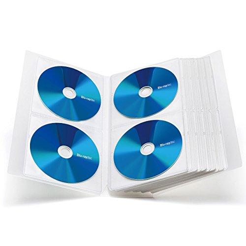 サンワサプライ『ブルーレイディスク対応ファイルケース(FCD-FLBD104)』