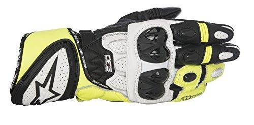 Alpinestars GP Plus R Handschuhe M Schwarz/Weiß/Gelb