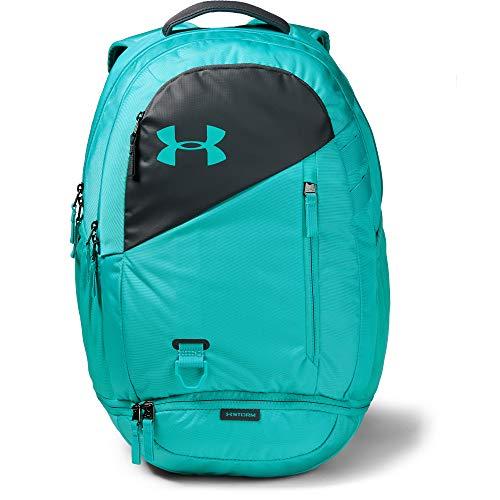 Under Armour Adult Hustle 4.0 Backpack , Breathtaking Blue (401)/Breathtaking Blue , One Size
