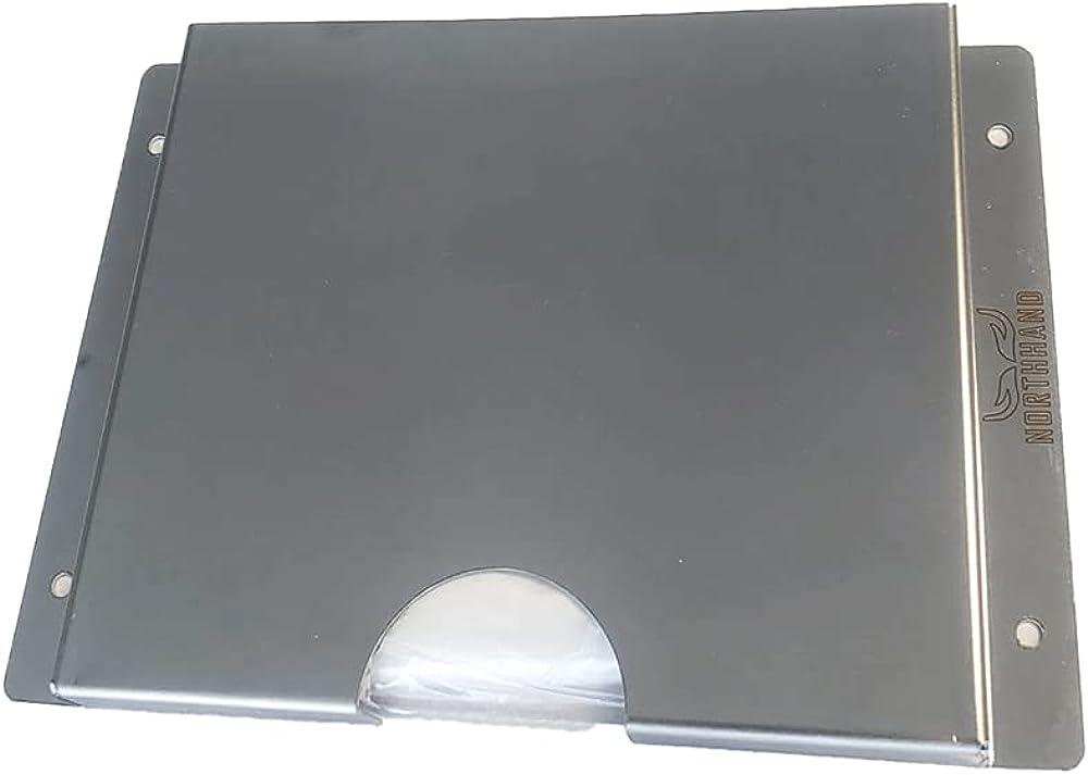 NORTHHAND Dispensador de guantes diésel de acero inoxidable para extracción de guantes diésel