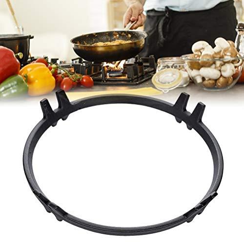 Delaspe Estufa de hierro fundido Rack Gas Cooktop Wok Soporte Anillo para Cocina Gas Quemador Cocina Cocina Cocina Accesorios