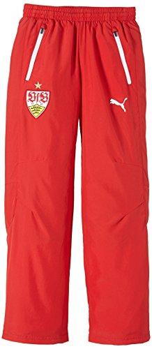 PUMA Kinder Hose VFB Stuttgart Leisure Pants, Team Regal Red-White, 176, 746043 01