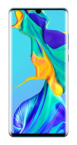 Huawei P30 Pro Smartphone débloqué 4G (6,47 pouces - 8/128 Go - Double Nano SIM - Android 9.1) Blanc nacré