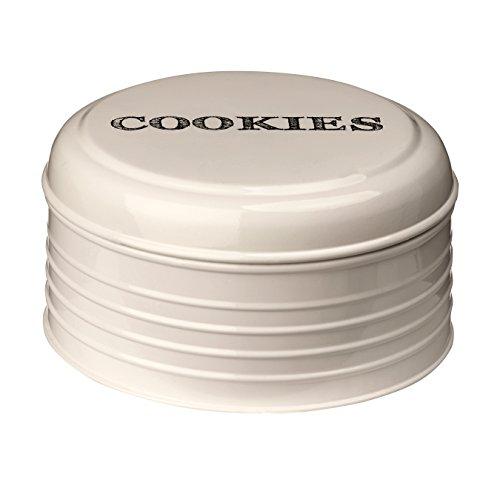 Premier Housewares Croquis Boîte à Biscuits – Crème