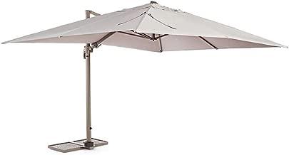 Viva Green 68251/Sun 4/ombrellone Giardino deportato Rettangolare Alluminio Tortora 3/X 4/M