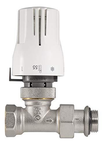 Thermostat-Komplett-Set Durchgangsform | Heizkörper | Heizung | 1/2 Zoll