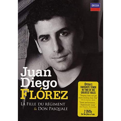 Juan Diego Florez - La Fille Du Regiment - Don Pasquale (2 Dvd) [Edizione: Regno Unito]
