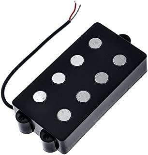1set Belcat BJ-70 4 String Bass Humbucker Double Coil Pickup Black for Bass Guitar