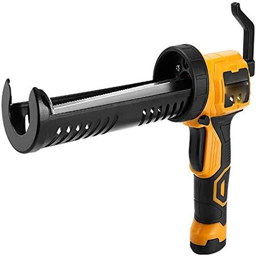 ShenMiDeTieChui Pistola automática del Cartucho, Pistola de Pegamento Caliente multifunción de 10 onzas en Caliente, asa de Confort, asa para los usuarios, para familias (Color : A)