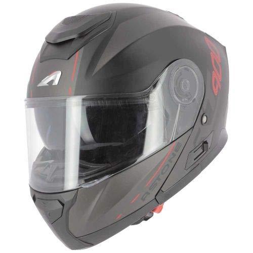 pas cher un bon Astone Helmet – RT900 Graphics – Flip Up Helmet – Universal Motorcycle Helmet – Flip Up Helmet…