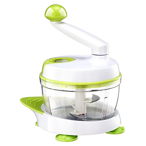ZFFLYH Chopper Légumes, Manuel Multifonction Ménages Hachoir À Viande Coupe-Légumes Fournitures De Cuisine,Vert