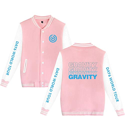 Enjoyyourlife DAY6 World Tour Gravity Kapuzenpullover Baseball Jacket Sweatshirt Pullover Sweater